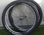"""Easton Havoc 26"""" UST Laufradsatz 6-Loch 2012 mit Hutchinson Räder"""