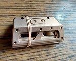 Crankbrothers Pedalplatten gold für Crankbrothers 5050 Pedale NEU