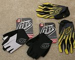 Troy Lee Designs Handschuhe *M* Kurzfinger & Langfinger