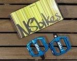 NS Bikes Aerial Pro Pedale (blau) NEU! von www.mountainlove.de