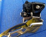SRAM X0 Umwerfer High Clamp 38,2 mm Dual Pull 3 fach