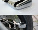 Hard Rock Fahrradschloss mit Alarmanlage (110 dB ) Fahrrad Alarmanlage mit Bewegungsmelder