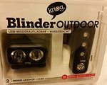 Knog Blinder Outdoor 2- Twinpack LED USB Wasserdicht