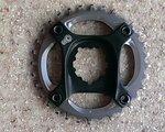 SRAM X01 Kettenblatt mit Spider BB30 32 Zähne