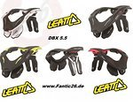 Leatt Brace DBX 5.5 Nackenschutz 2014 Neck Guard SM / LXL Black , white , green , red