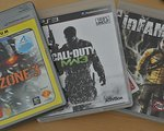Sony 3 PS3 Games Bundle