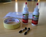 Stans Notubes orig. Tubeless Kit incl. 2 Ventile und 2x Milch - Nagelneu!