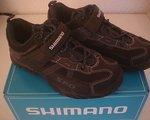 Shimano SPD MTB Touring Schuhe, SH-MT42, Gr. 38, navy/black mit SPD Cleats
