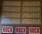 Avid ROCKSHOX Aufkleber Set ••NEU••