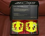 Azonic Flat-Iron-Pedals *ultra flach!*