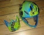 Giro Remedy Helm blue-yellow-cloud, Größe S - am liebsten Tausch gegen selben Helm in Größe M