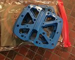 E-Thirteen e13 e*thriteen e.thirteen Ersatzplatten für LG1+ in blau
