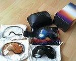 Anon M2 Snowboard Brille mit 4 Gläsern, neu