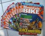 Zeitschriften Komplette Bike oder Mountainbike Ausgabe von 2011/12 & 2013