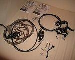 Formula T1 The One MTB Bike Fahrrad R1 Bremse Set VR und HR von Neurad demontiert
