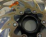 Shimano Bremsscheibe SM-RT 68 L 203mm, Centerlock-Aufnahme ICE-Tech