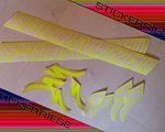 Stickerriese Specialized Outline Reflektierend NEON Aufkleber Satz