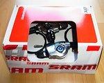 SRAM X.0 10-fach-Triggerschalter - Set 3x10-fach - chrom / schwarz