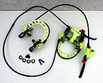 Magura RACELINE EVOLUTION SET V+H NEON