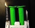 Gusset Bastard Grips green, Griffe, grün, NEU