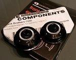 Crank Brothers Adapterkappen VR 9mm für Iodine 2 / Iodine 3