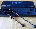 Kcnc Schnellspanner SET Titan MTB Grooving 35g schwarz
