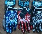 Royal Racing Signature Handschuhe in blau rot und grau NEU