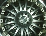 """Force Wheels/ Cadillac 18"""" Chrom/ 17"""" schwarze Autofelgen Tausch bevorzugt!"""