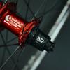 "Radsporttechnik Müller Laufradsatz 29"" Carbon Clincher Carbon Ti X Hub SL(red)Duke Lucky Jack ca.1295g"