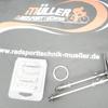 """Radsporttechnik Müller Laufradsatz DT 240s 60mm Aero Carbon Clincher CX Ray ca,1686g 28"""" NEU"""