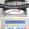 "Radsporttechnik Müller Laufradsatz 29"" Carbon Ti rot Duke Lucky Jack ULTRA CX Ray ca.1130g"
