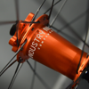 "Radsporttechnik Müller Laufradsatz 27,5""/650B Carbon M Duro Industry Nine Hydra BOOST ORANGE CX Ray 1555g"