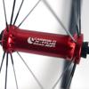 """Radsporttechnik Müller Laufradsatz Rennrad Carbon Ti X Hub rot Fratelli FX 2035 Sapim CX Ray 1425g 28"""""""