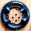 Shimano Ultegra 8000 50-34 11s chainrings ***used for 50km***