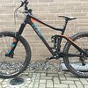 "Cube STEREO 160 C:62 SL  27.5"" CARBON ORANGE"