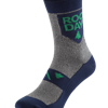 Rocday TIMBER Socks, Melange-Blau, Gr. S/M