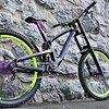 Propain Rage CF L/XL Custom absolutes Einzelstück / Traumbike Downhill Bike NEUAUFBAU !