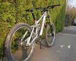 Ghost DH 9000, neuwertiges Fahrwerk!!! Deemax, FOX 40/RC2 Gr. S/M