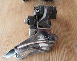 Shimano SLX FD-M 667  2-fach Umwerfer - Down Swing Dual Pull