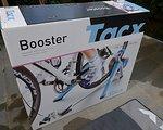 Tacx Booster mit Trainingsmatte und Rollenreifen 26''