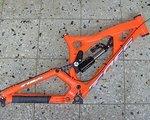 Foes Racing Downhill Edel Rahmen HYDRO 2014 L/XL – Double Barrel AIR 267mm UVP 2.890€
