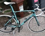 Vivelo Bianchi Style Carbon 54,5 Dura Ace 9000 11s Oltrelook