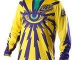 Troy Lee Designs TLD Troy Lee Designs Cyclops Yellow Purple Größe L NEU mit Etikett OVP!