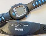 Phase Pulsuhr Herzfrequenzmesser Wasserdicht bis 5 Meter mit drahtlosen digitaler Funkübertragung und Lenkerhalterung