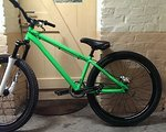 Leafcycles Dirtbike Leafcycles D.one Limited Edition neongrün
