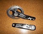 FSA SL-K Single 175 mm Carbon Kurbel 36 T