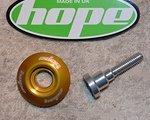 Hope A-Head Kappe gold