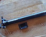 Woodman Sattelstütze schwarz, gebraucht, 27,2mm, 290mm lang