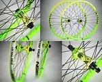 NS Bikes Bikes Bikes Enigma NS Rotary Laufradsatz NEU Singlespeed Dirt Street