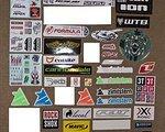 3T - Catlike - Formula - GT Bicycles - Jagwire - Leatt - Local Outerwear - SRAM - SRM - WTB - One Industries - ROCK SHOX - Zimtstern - Nicolai  - Onza  - SR Suntour - Kabuta - Gates  - ION - Platzangst - Cannondale Aufkleber verschiedenster Art/Hersteller